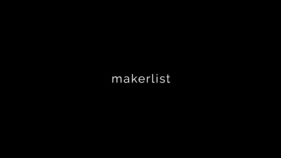 カテゴリ別におすすめのウェブサービスをまとめたサイト「makerlist」