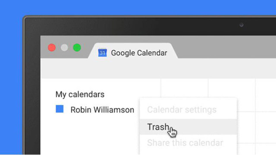 Googleカレンダーで削除した予定の復元が可能に
