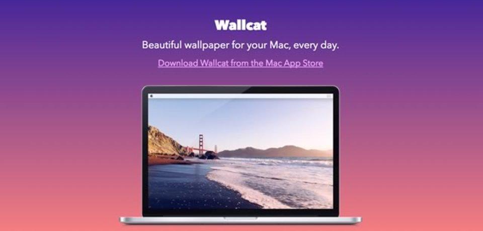 日替わりで綺麗な壁紙を提供してくれるMacアプリ「Wallcat」