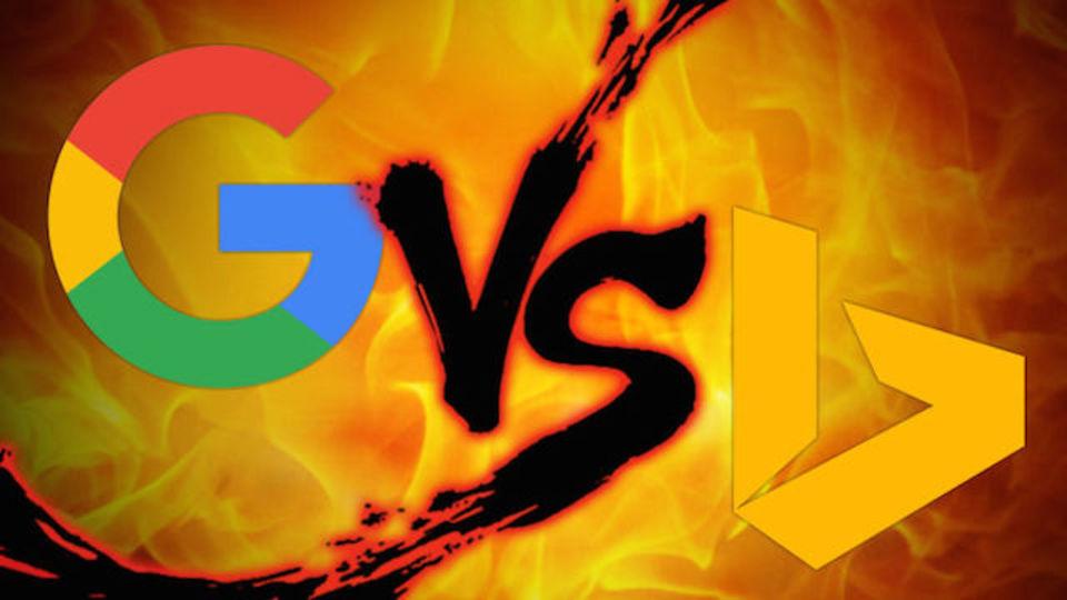 検索エンジン対決:Google vs. Bing