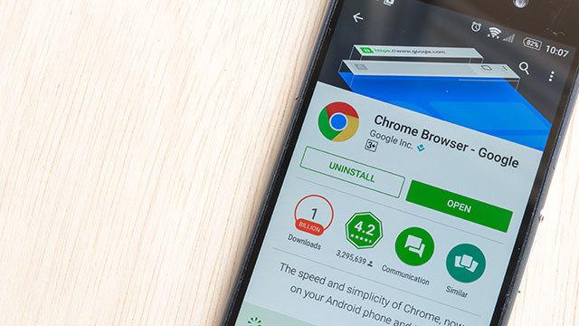 Android版Chromeのデータセーバーモード機能は、画像をブロックすることでロード時間を短縮できる