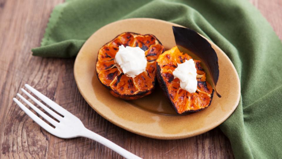 時間がない朝に作るエナジー朝食:空気の乾燥による風邪予防に「ベイクドみかん」