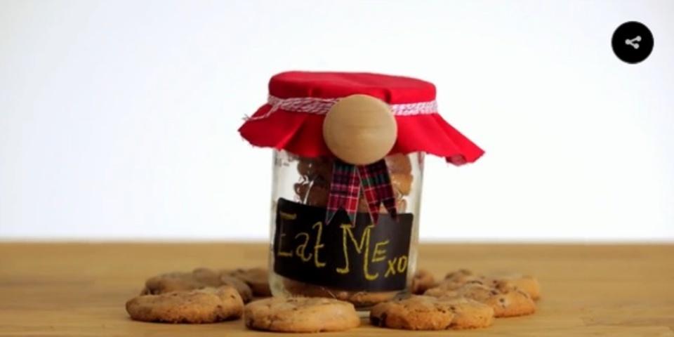 クッキーを美しくギフトラッピングする簡単な方法
