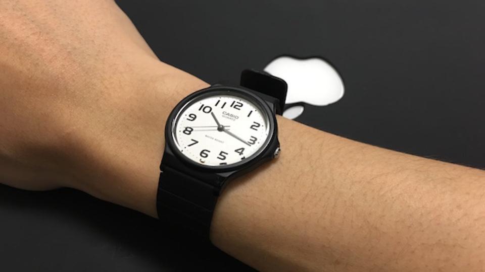 ミニマルに時間を管理したい人の腕時計【今日のライフハックツール】