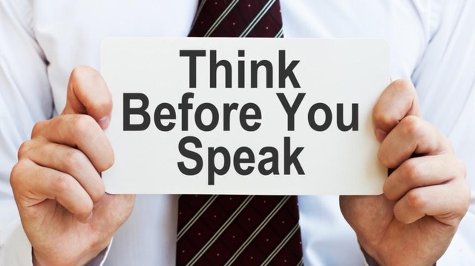 余計な一言を防ぐために自問するといい3つの質問