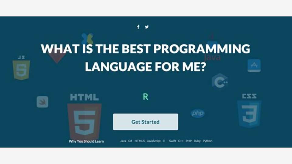 あなたが今年学習すべきプログラミング言語を教えてくれるサイト「Best Programming Language to Learn in 2016」