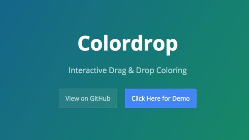 ドラッグ&ドロップでウェブページの色を自由に変えられるChrome拡張機能「Colordrop」