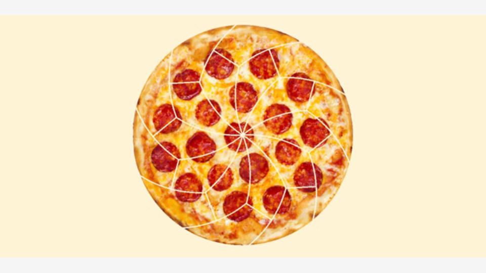 数学者たちが研究した、ピザの均等な切り分け方