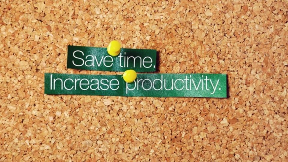 仕事の生産性を高めて時間を節約する4つの基本