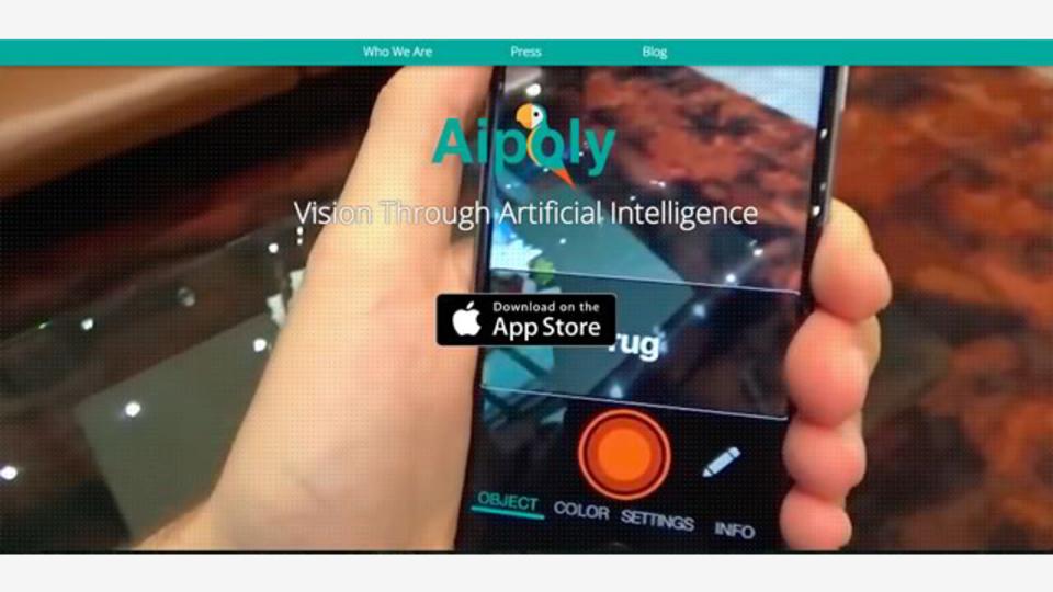 iPhoneのカメラで映すだけで、それが何か教えてくれるアプリ「Aipoly Vision」