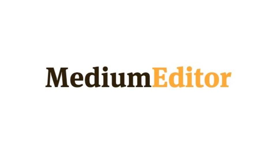 シンプルで使いやすいMedium風のエディタ「MediumEditor」