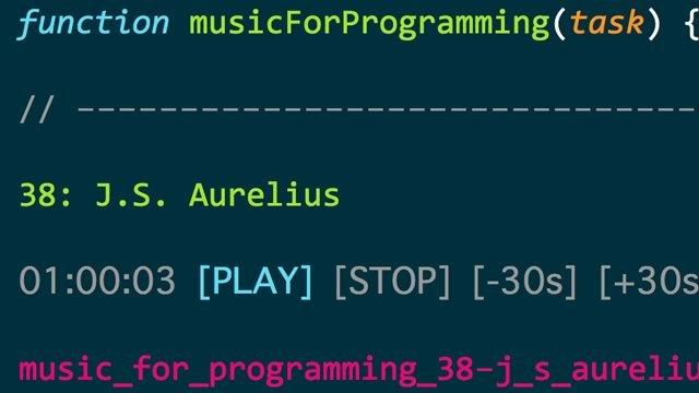 プログラマー向けの作業用BGMサイト「musicForProgramming」
