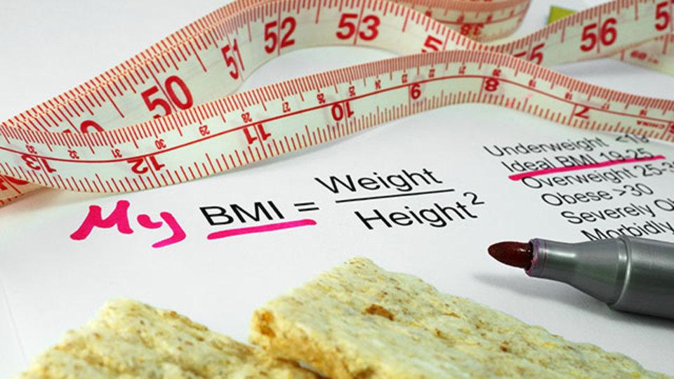 研究結果:BMI値が高い=不健康とは限らない
