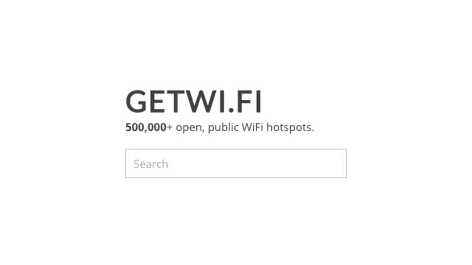 世界中の無料Wi-Fiを地図上で探し出せるサービス「getWiFi」