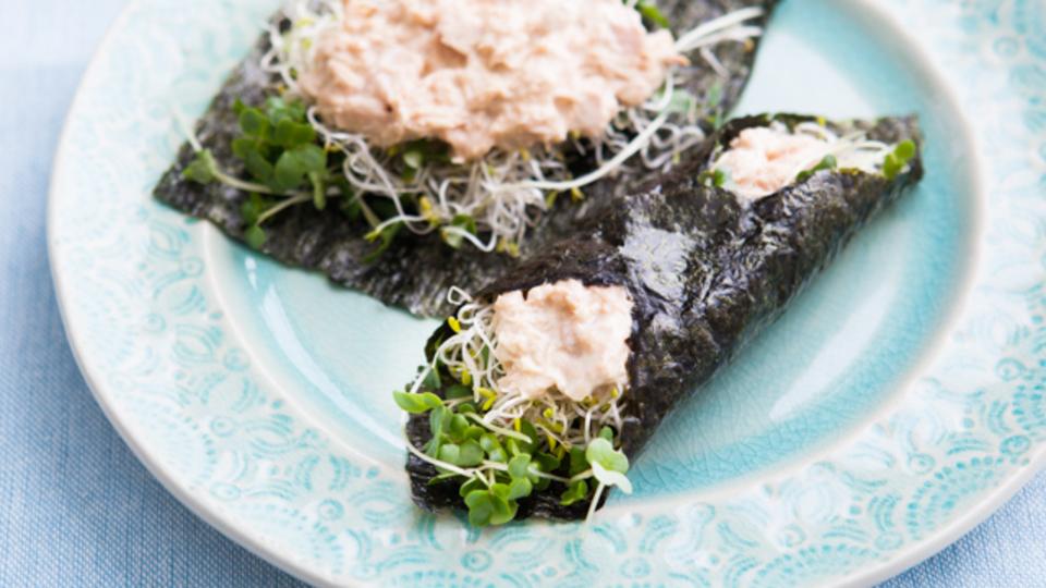 時間がない朝に作るエナジー朝食:肥満を解消して大病を予防する「スプラウト海苔巻き」