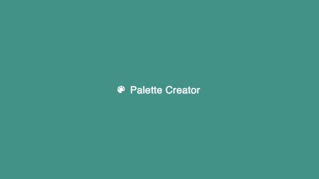 指定した画像に含まれている色を一瞬で抽出できるChrome拡張機能「Palette Creator」
