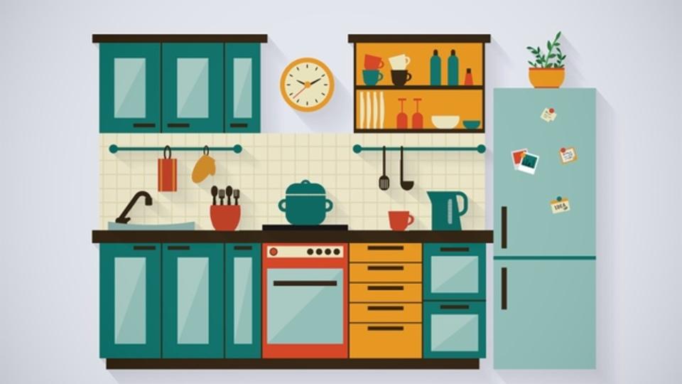 散らかったキッチン+ストレス=間食の原因?ダイエットのコツは環境と心のコントロールにあり!