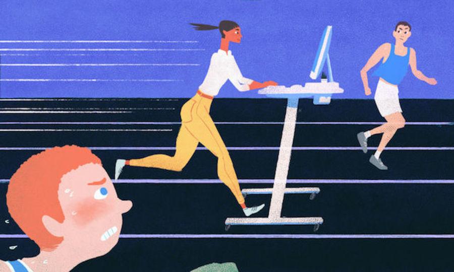 スタンディングデスクは「健康的」ではなくても「生産的」ではある