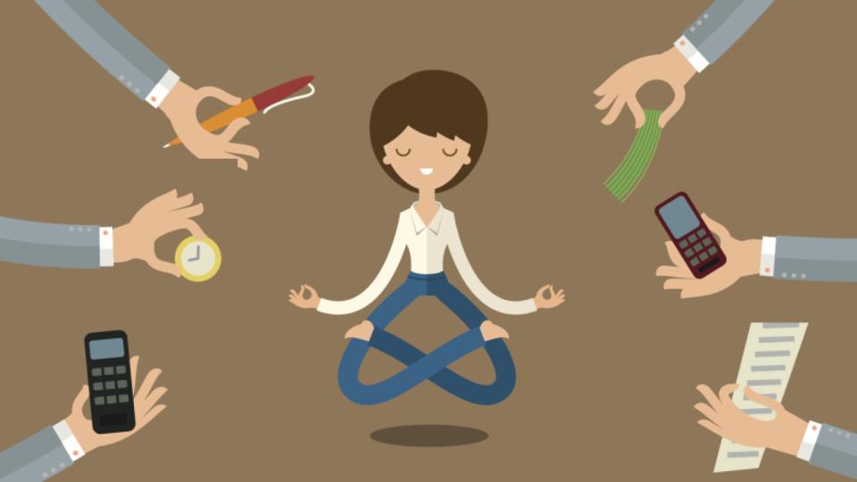 仕事のストレスを根源から絶つ鍵は、人生を受け入れること
