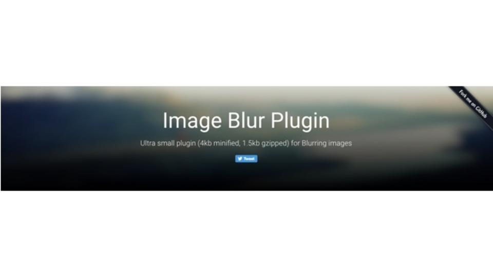 画像に簡単にぼかしをかけられるプラグイン「Background Blur」