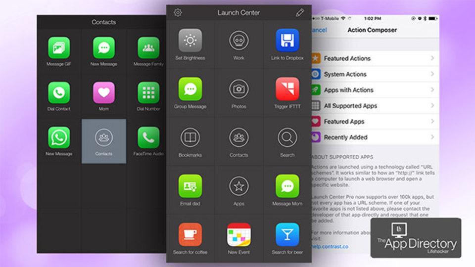 iPhone向けの最高のアプリランチャー『Launch Center Pro』