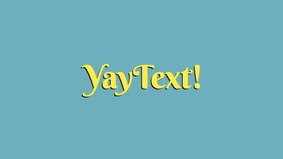 入力したテキストを装飾できるサイト「YayText」