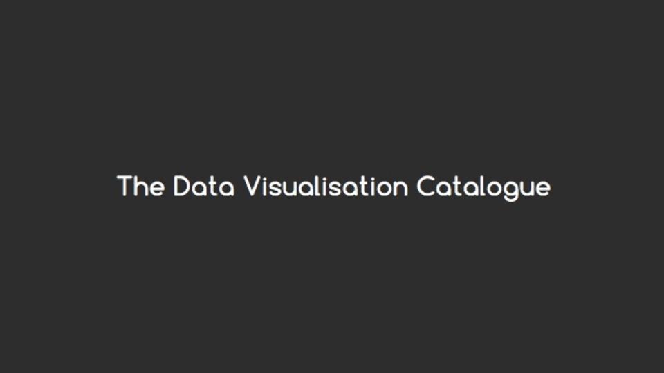 どのグラフを使えば良いか提案してくれるサイト「The Data Visualisation Catalogue」
