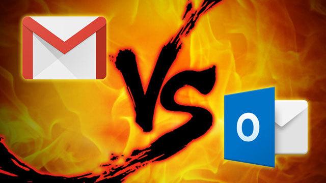 ウェブメールのガチンコ対決「Gmail」VS.「Outlook.com」