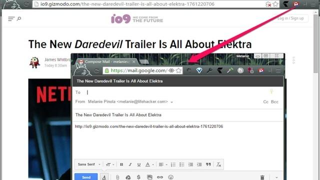 メール送付を最短にするGoogle純正の拡張機能「Send from Gmail」