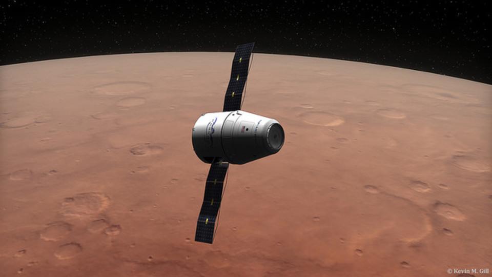 SpaceX、2018年にも無人探査機を火星に着陸させる予定
