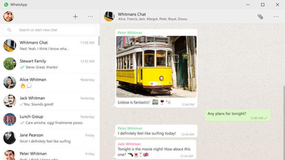 WhatsAppがWindowsとMac用デスクトップ向けアプリを公開