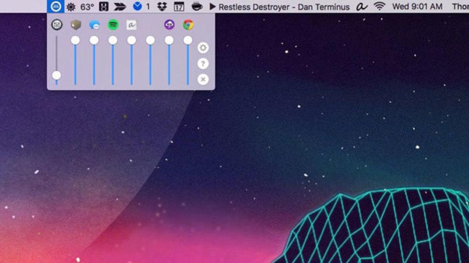 音量をアプリ別にコントロールできる『Volume Mixe』