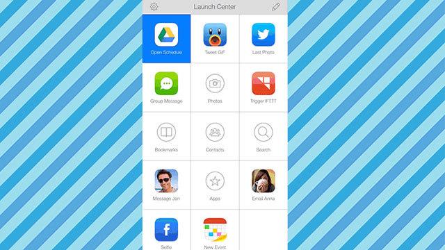iOSで『Launch Center Pro』を使って、Googleドライブへのアクセスをスムーズに
