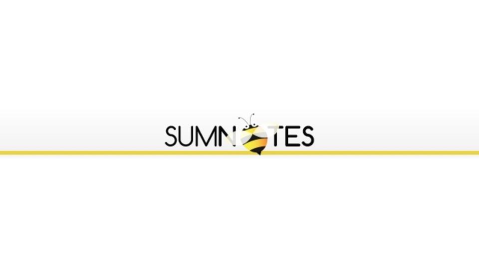 PDFの注釈のみ抽出できるサービス「Sumnotes」