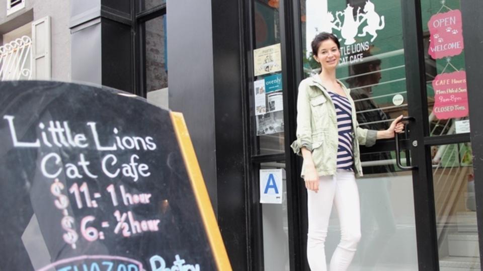 「無制限休暇制度」を利用して猫カフェを創業してしまったNYビジネスウーマン。アメリカの新しい起業スタイルとは?
