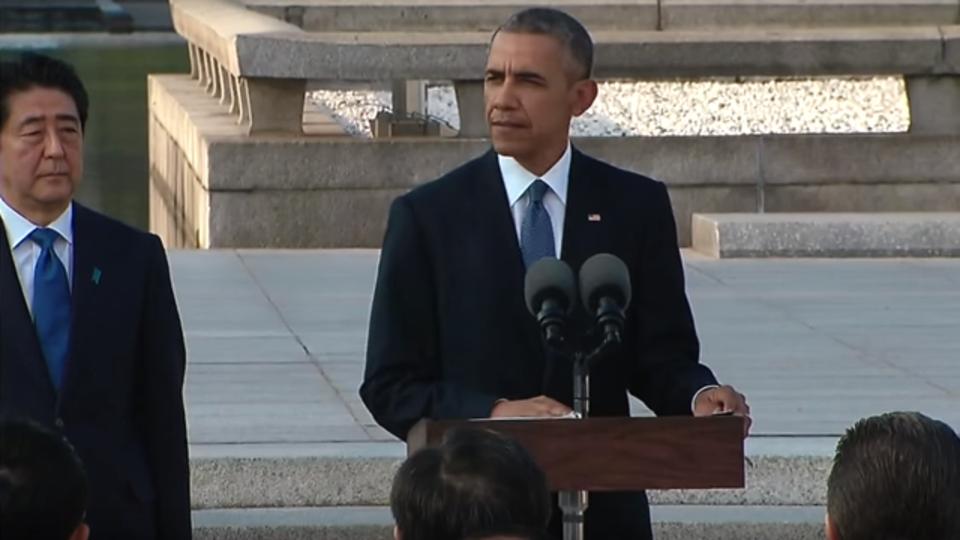 オバマ大統領の広島演説全訳