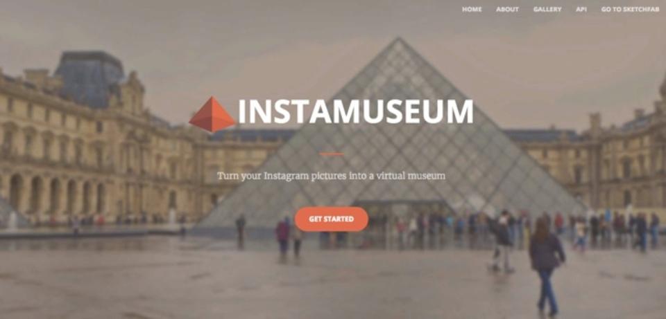 あなたのInstagram写真を使ったバーチャル美術館が作れるサイト「Instamuseum」