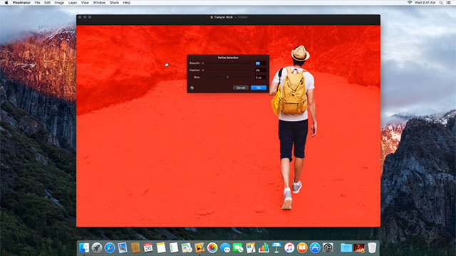 Mac用Pixelmator、新しい選択ツールと写真アプリ拡張機能が追加