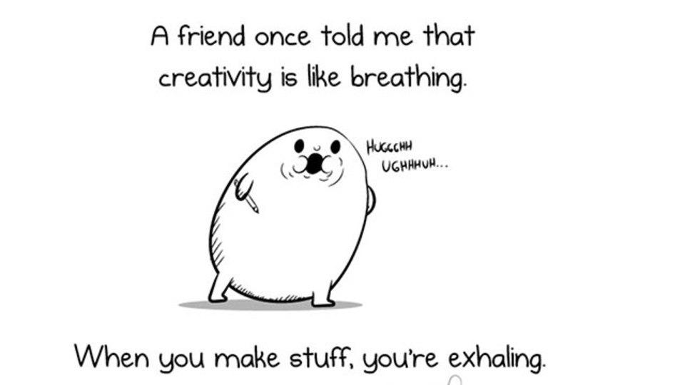 クリエイティビティとは「呼吸」のようなもの