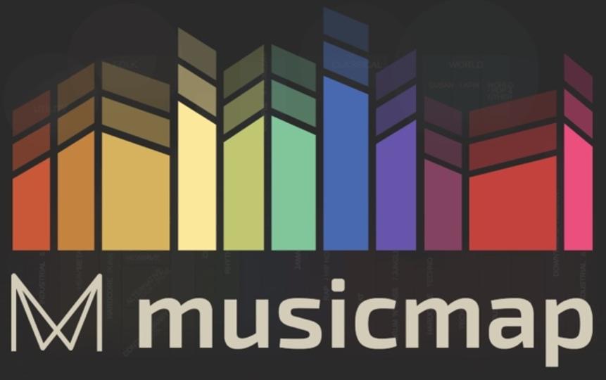 ポピュラーな音楽の歴史を辿れるサイト「Musicmap」