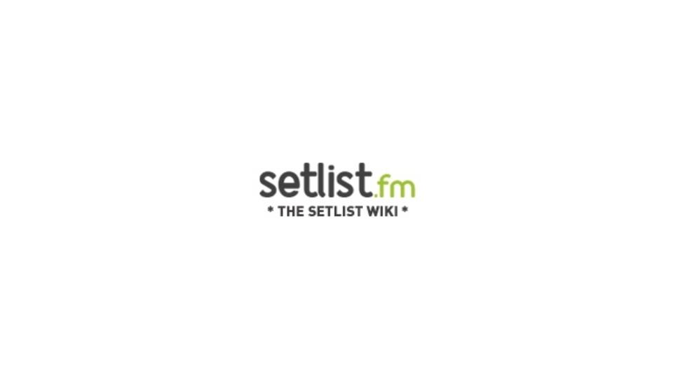 世界中のライブのセットリストをまとめたサイト「setlist.fm」