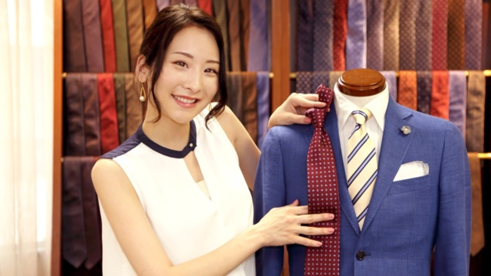 基本のネクタイ、ちゃんとできてる?~美人すぎるメンズファッションライターが教える正しいネクタイの結び方