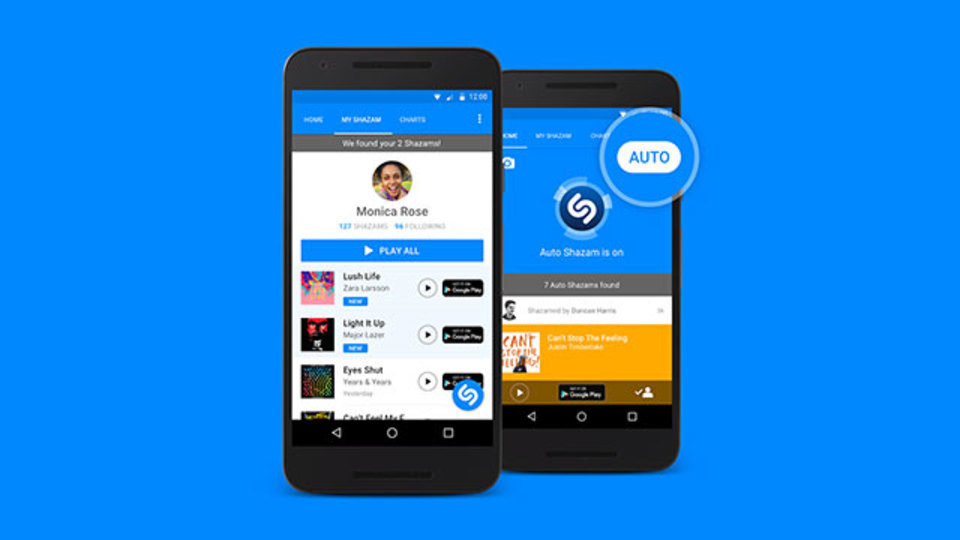 まわりで流れている曲を片っ端から特定する~アプリ「Shazam」の新機能