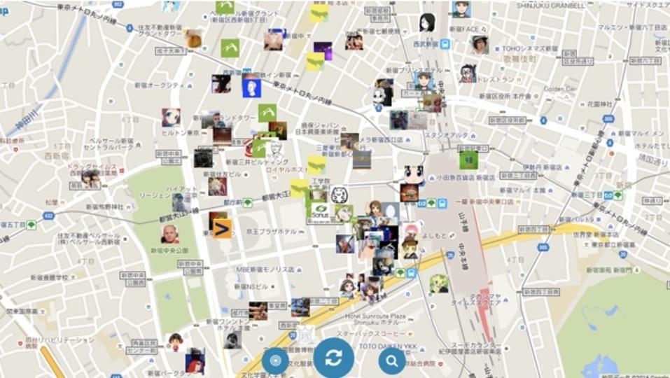 世界中のツイートを地図上で探せるサービス「Twitmap」