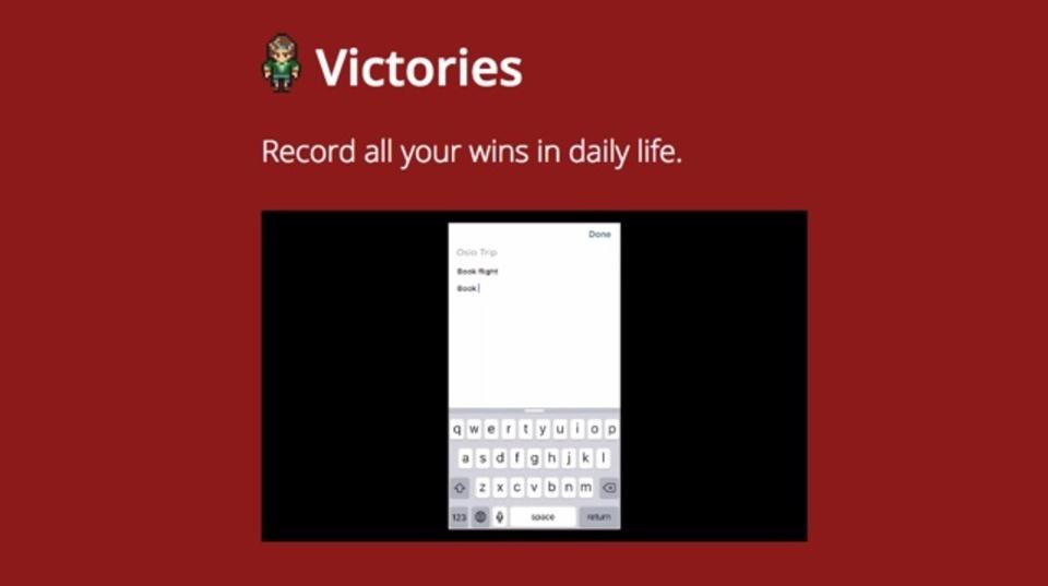 ToDoリストをバトルへ変換する『Victories』