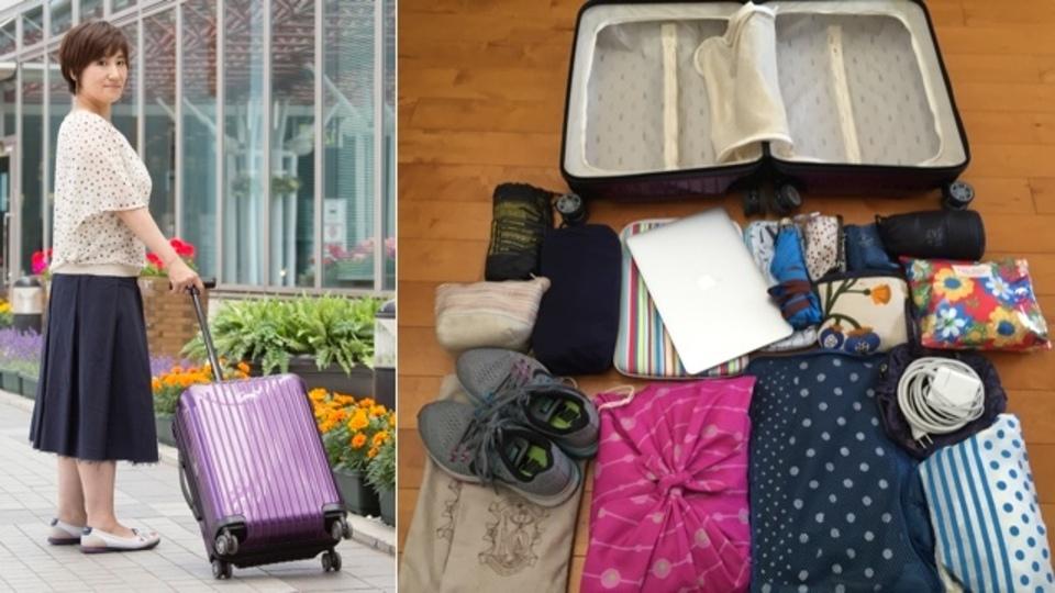 年間200日以上国内外を取材する旅ジャーナリストが選んだ旅行バッグと必携グッズ