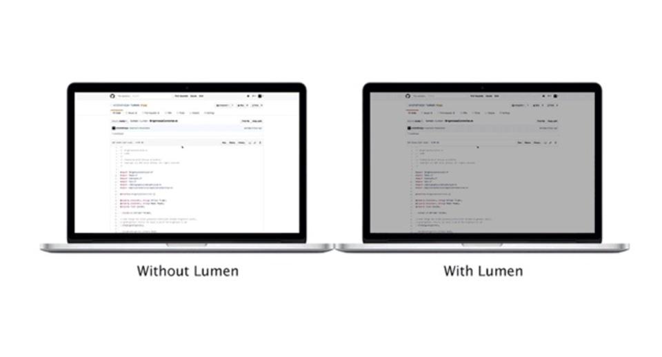 表示ページを検知してMacのモニターの輝度を自動調整してくれるアプリ『Lumen』