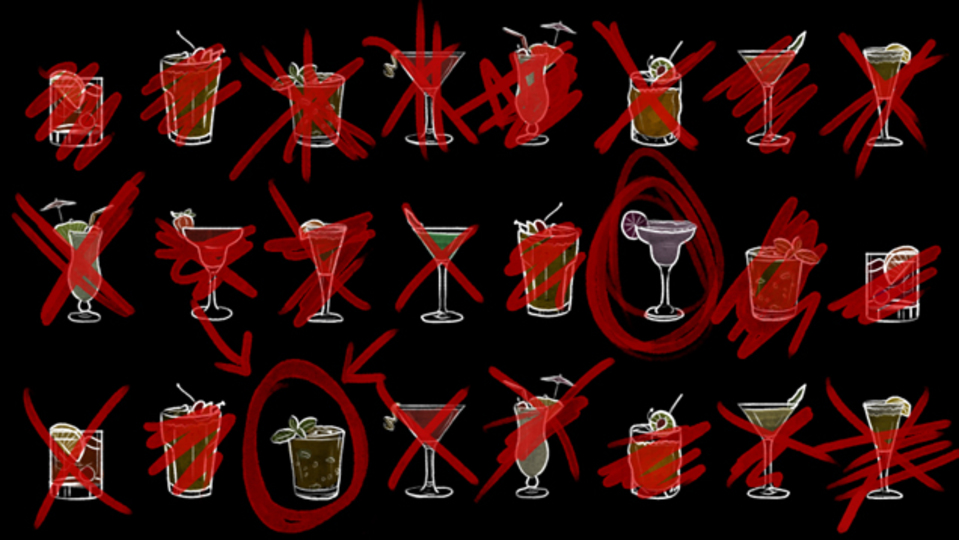 仕事や付き合いのパーティーで「2杯だけ飲む」という戦略