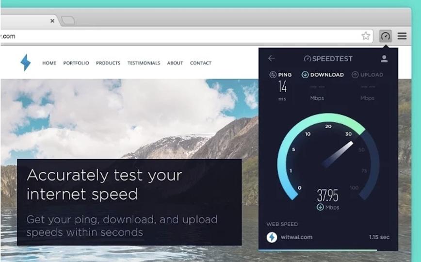 手軽にネットワーク通信速度を計測できる拡張機能「Speedtest」