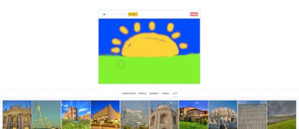 「自分が描いた絵」で画像検索できるサービス「Splash」